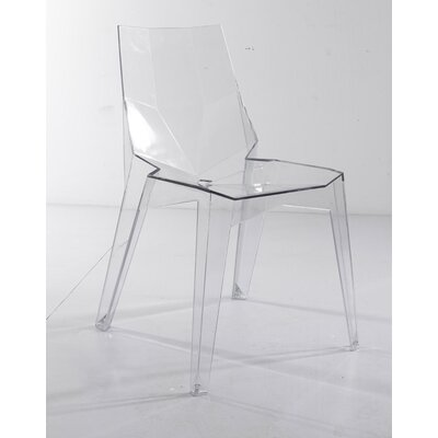 Stadler Transparent Armless Dining Chair