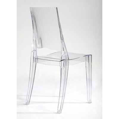 Stabile Transparent Armless Dining Chair