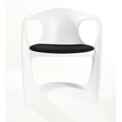 Stahlman Modern Arm Chair with Padded Seat
