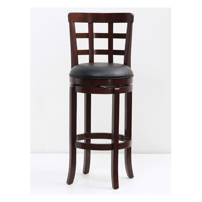 29 Swivel Bar Stool Finish: Cappuccino