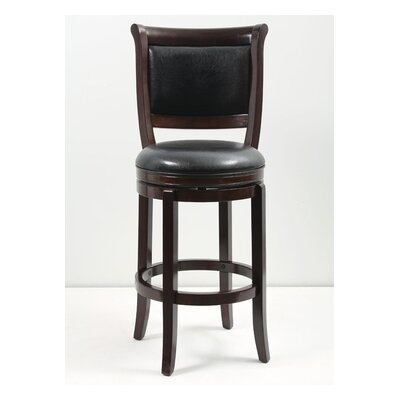 29 inch Swivel Bar Stool Finish: Cappuccino