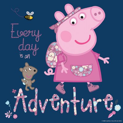 Peppa Pig Every Day Is An Adventure Graphic Art on Wrapped Canvas MH-PEPPIG-58-C-18