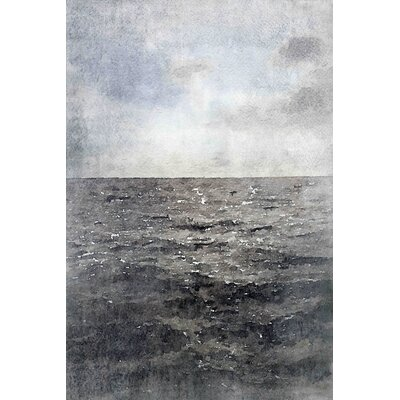 Dark Water by Irena Orlov Painting Print on Wrapped Canvas Size: 24
