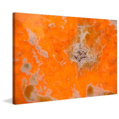 Orange Pool Photographic Print on Wrapped Canvas Size: 20