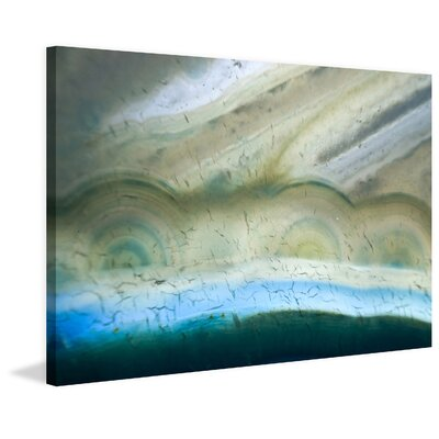 Bubble Rings Painting Print on Wrapped Canvas Size: 24