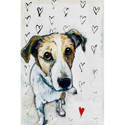 Gus Love Painting Print on Wrapped Canvas Size: 30
