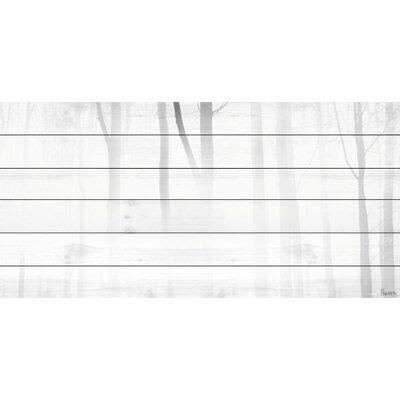 "'Blinding White' Painting Print Size: 30"" H x 60"" W x 3.5"" D MHWE-05-BW-WW-60"