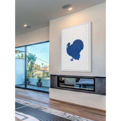 'Turkey Shadow' Framed Painting Print Size: 12