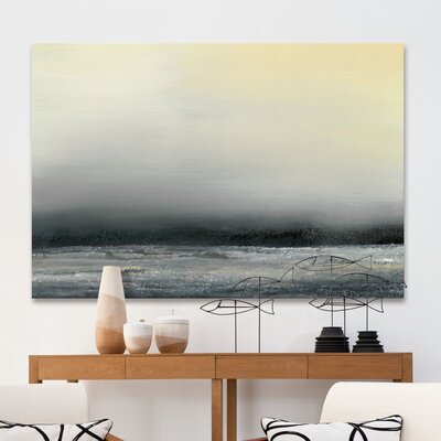 'Ocean Tide IV' Painting Print on Wrapped Canvas