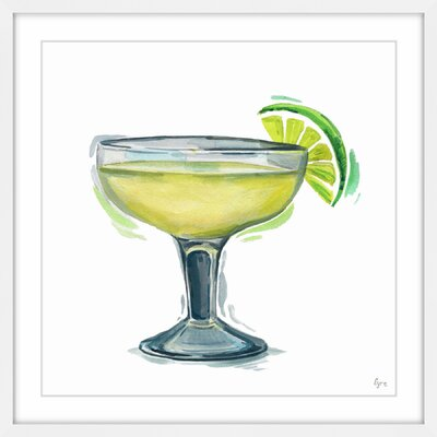 'Margarita Citron' Framed Painting Print Size: 12