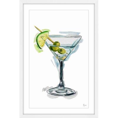 'Olive Martini' Framed Painting Print MCRW5818 41881620