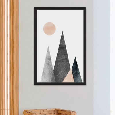 'A Beginning' Framed Painting Print Size: 18