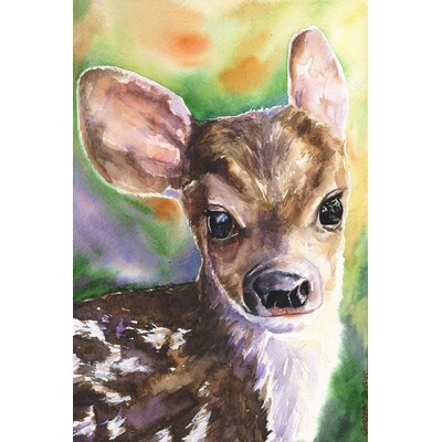 'Bambi' Painting Print on Wrapped Canvas Size: 18