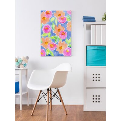 'Let's Have a Picnic' Painting Print on Wrapped Canvas Size: 18