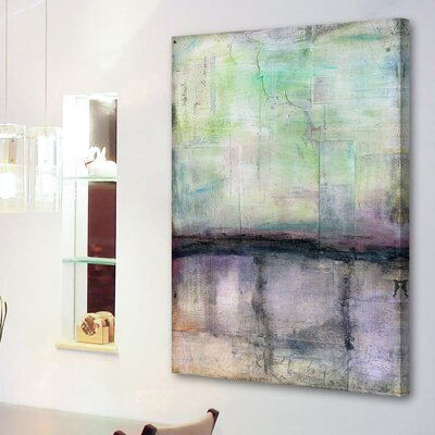 'Twilight' Oil Painting Print on Wrapped Canvas Size: 18