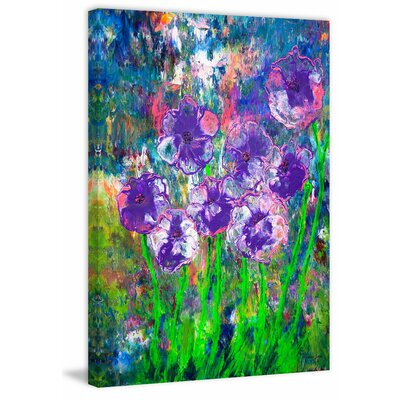 'Hidden Beauty' Acrylic Painting Print on Wrapped Canvas Size: 18