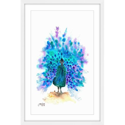 'Show Your Colors' Framed Painting Print Size: 18
