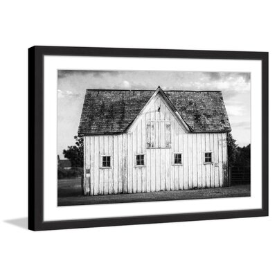 'Grange Blanche' Framed Photographic Print On Paper