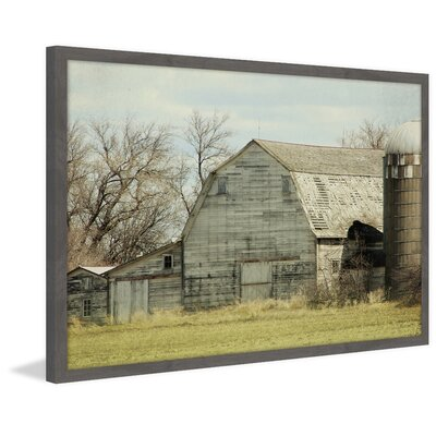 'Barn Profile' Framed Photographic Print On Paper