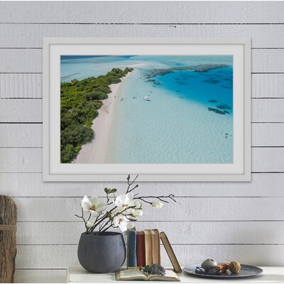 'My Oasis' Framed Photographic Print Size: 12