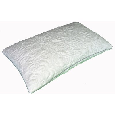 Air Visco Memory Foam Pillow Size: King