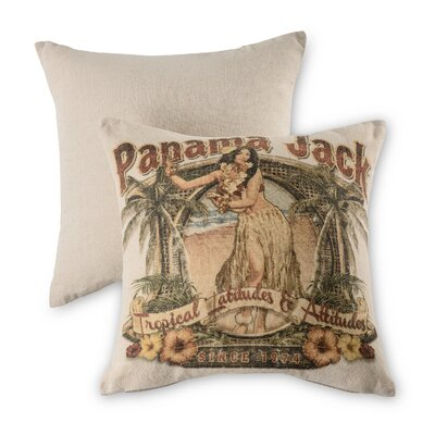 Tropical Latitudes Throw Pillow