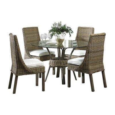 Panama Jack Exuma 5 Piece Dining Set - Upholstery: Resort Life Multi