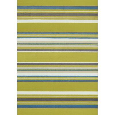 Island Breeze Windward Lime Area Rug Rug Size: Rectangle 110 x 3