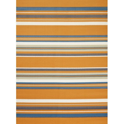 Island Breeze Windward Peach Area Rug Rug Size: 53 x 72