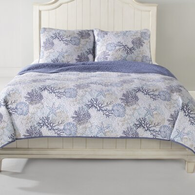 Sea Quilt Set Size: King