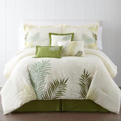 Haven 7 Piece Comforter Set Size: Queen