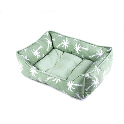 Cramer Pet Bed Color: Green, Size: 22 W x 28 D