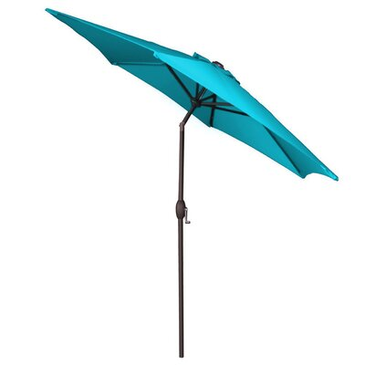 9 Market Umbrella Color: Teal