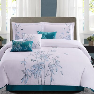7 Piece Comforter Set Size: Queen