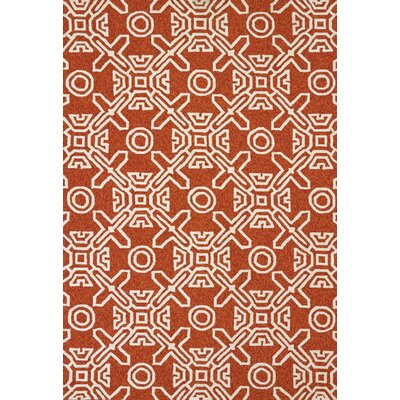 Maui Hand-Woven Terracotta Indoor/Outdoor Area Rug Rug Size: 111 x 3