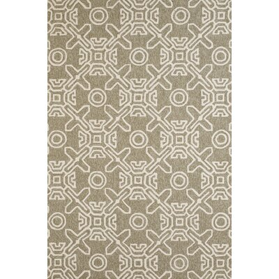 Maui Hand-Woven Granite Indoor/Outdoor Area Rug Rug Size: 710 x 910