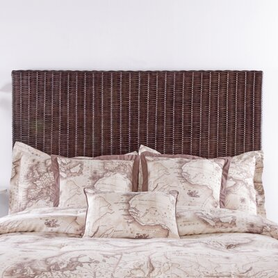 Driftwood Core Panel Headboard Size: King, Color: Cocoa