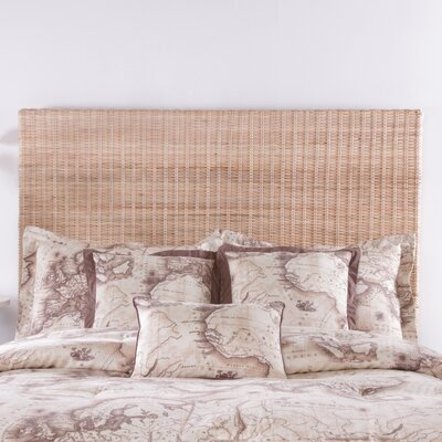 Driftwood Core Panel Headboard Size: King, Color: Natural