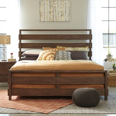 Driftwood Panel Bed Size: King