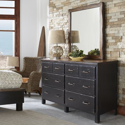 Big Sur 6 Double Dresser with Mirror