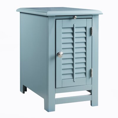 Colors End Table Color: Deep Sea Blue