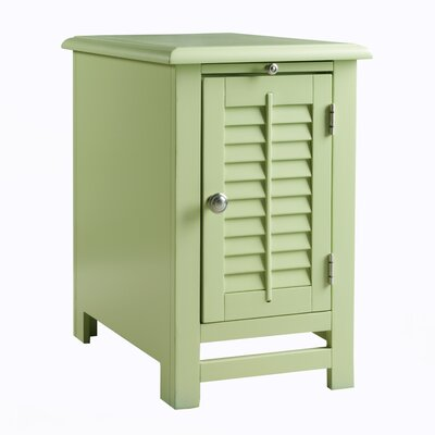 Colors End Table Finish: Citrus Green