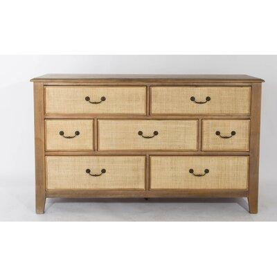 Linen 7 Drawer Dresser