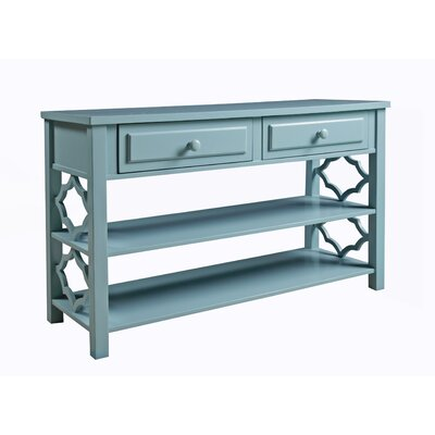 Colors Console Table Color: Deep Sea Blue