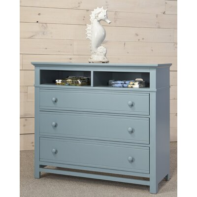 Colors 3 Drawer Media Chest Finish: Deep Sea Blue
