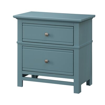 Colors 2 Drawer Nightstand Finish: Deep Sea Blue