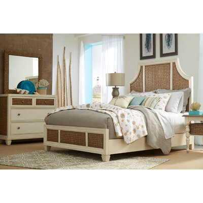Bridge Hampton Seagrass Panel Customizable Bedroom Set