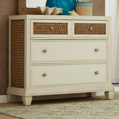 Bridge Hampton Seagrass 4 Drawer Dresser