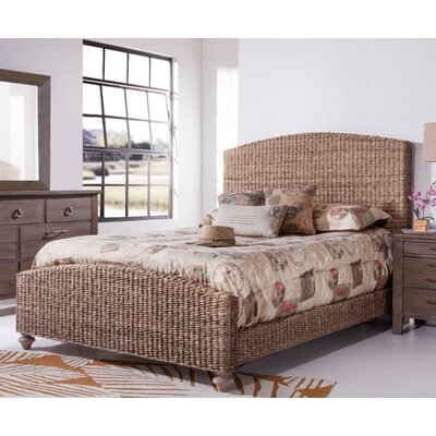 Driftwood Woven Panel Bed Size: Queen