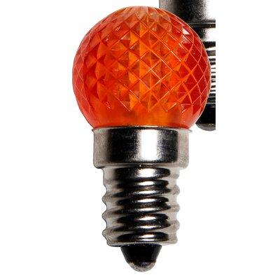 0.96W 130-Volt LED Light Bulb (Pack of 25) Color: Amber